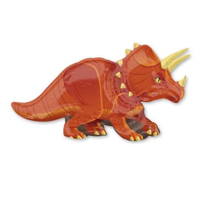 トリケラトプス メタリックバルーン (横131cm×縦63cm)