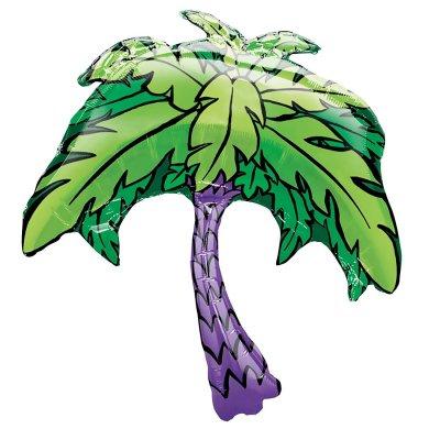 パームツリー メタリックバルーン (横86cm×縦101cm)