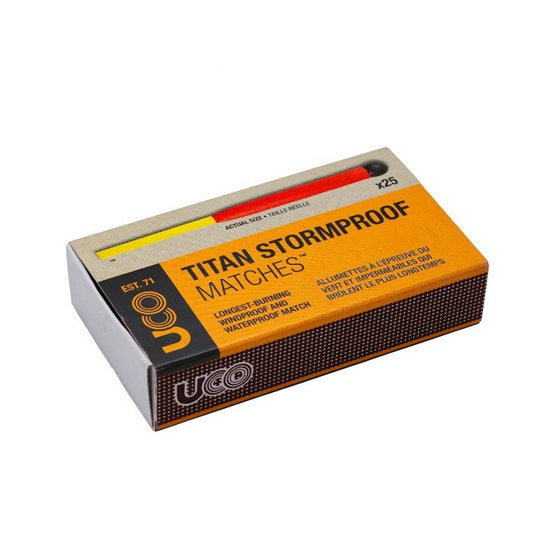 TITAN STORMPROOF MATCH