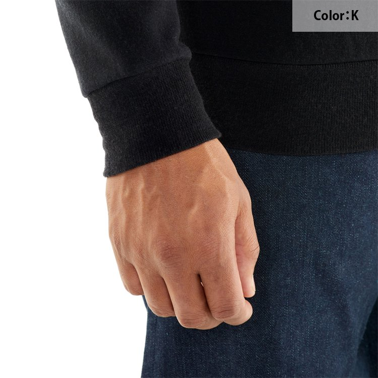 REAL FLEECE LS CREWE<img class='new_mark_img2' src='https://img.shop-pro.jp/img/new/icons20.gif' style='border:none;display:inline;margin:0px;padding:0px;width:auto;' />