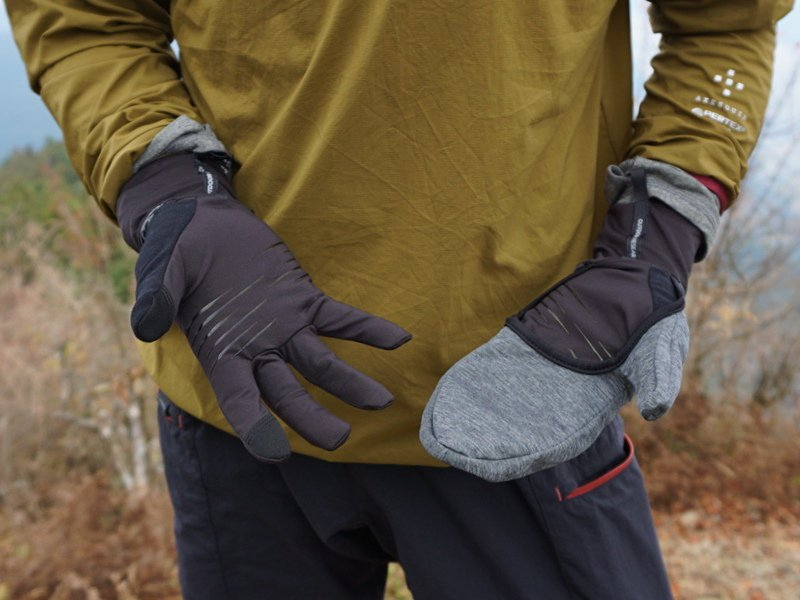 Overdrive Convertible Gloves