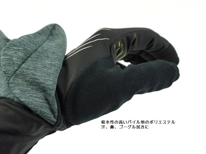 Overdrive Convertible Gloves<img class='new_mark_img2' src='//img.shop-pro.jp/img/new/icons5.gif' style='border:none;display:inline;margin:0px;padding:0px;width:auto;' />