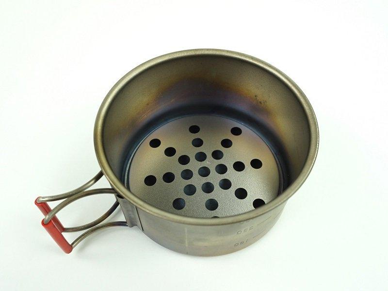 Ti 蒸し皿