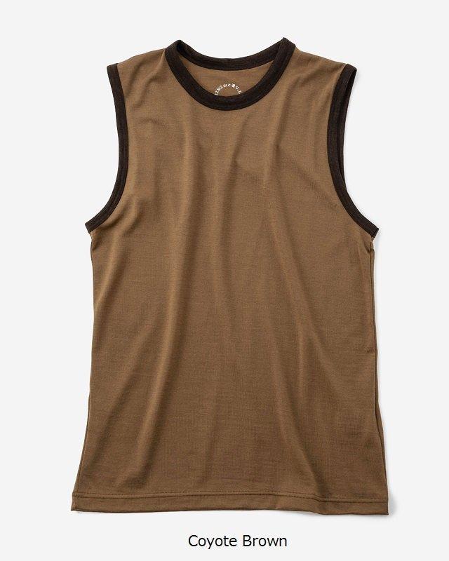山と道 Light Merino Sleeveless T-shirt<img class='new_mark_img2' src='https://img.shop-pro.jp/img/new/icons5.gif' style='border:none;display:inline;margin:0px;padding:0px;width:auto;' />
