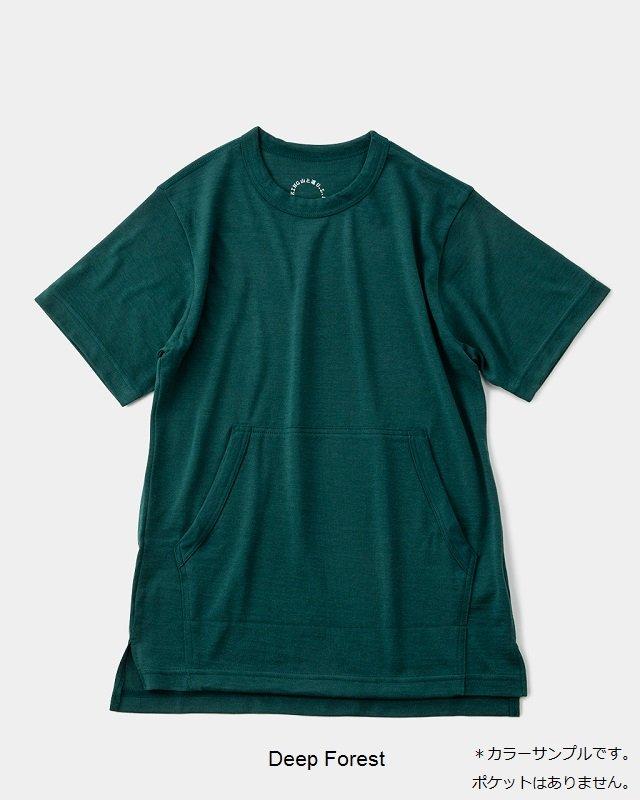 山と道 Light Merino Crew Neck T-shirt<img class='new_mark_img2' src='https://img.shop-pro.jp/img/new/icons59.gif' style='border:none;display:inline;margin:0px;padding:0px;width:auto;' />