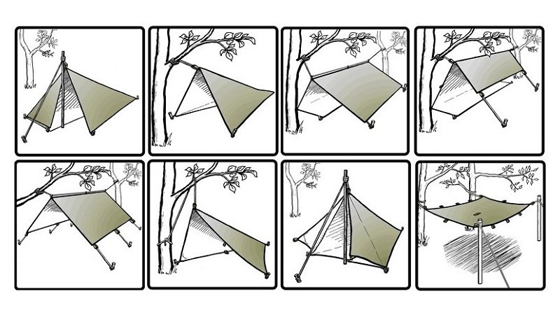 Tarp 3×3 ULTRALIGHT<img class='new_mark_img2' src='https://img.shop-pro.jp/img/new/icons5.gif' style='border:none;display:inline;margin:0px;padding:0px;width:auto;' />