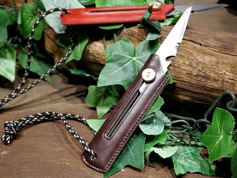 BUSHCRAFT KNIFE Leather<img class='new_mark_img2' src='https://img.shop-pro.jp/img/new/icons5.gif' style='border:none;display:inline;margin:0px;padding:0px;width:auto;' />