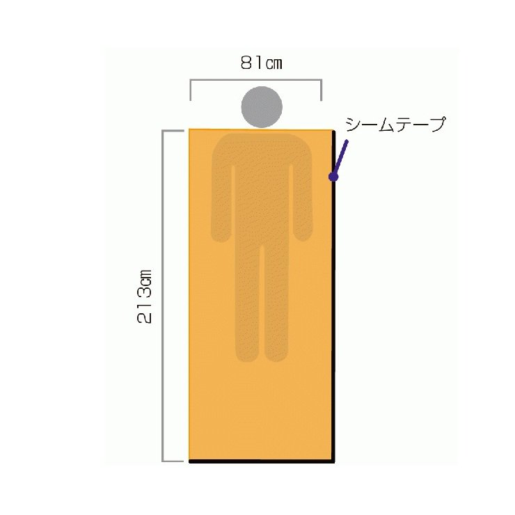 Emergency Bivvy OD<img class='new_mark_img2' src='https://img.shop-pro.jp/img/new/icons5.gif' style='border:none;display:inline;margin:0px;padding:0px;width:auto;' />