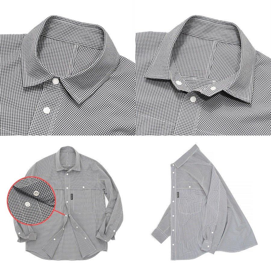 Big Pocket Long Sleeve Shirt<img class='new_mark_img2' src='https://img.shop-pro.jp/img/new/icons5.gif' style='border:none;display:inline;margin:0px;padding:0px;width:auto;' />