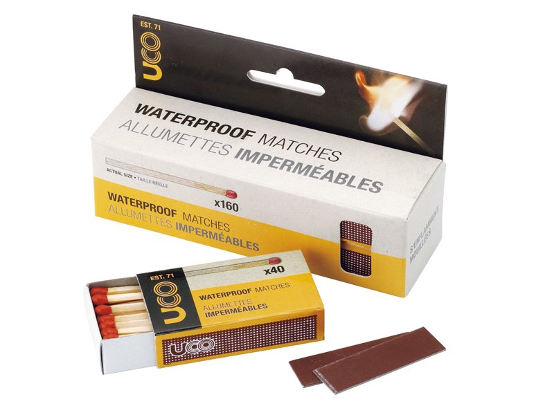WATER PROOF MATCHES