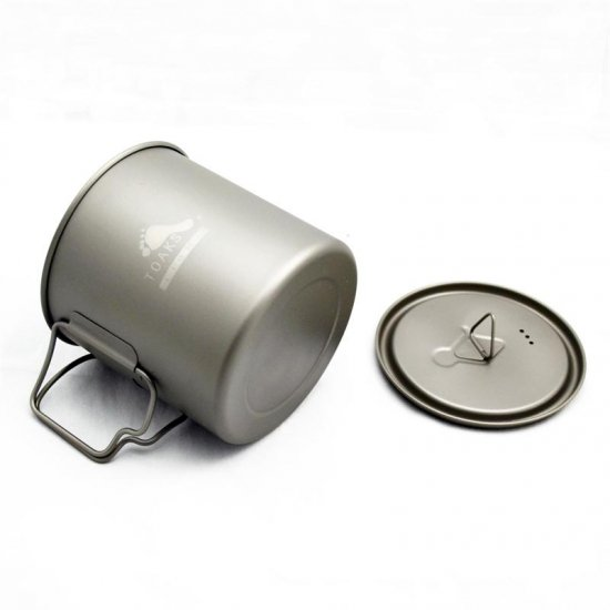 LIGHT Titanium 650 Pot<img class='new_mark_img2' src='https://img.shop-pro.jp/img/new/icons59.gif' style='border:none;display:inline;margin:0px;padding:0px;width:auto;' />