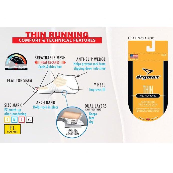 Thin Running 1/4Crew