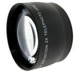 37mm High Grade 2.0X Telephoto Conversion Lens for JVC Everio GZ-HM550