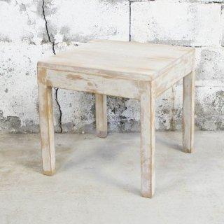 アンティークチーク ホワイトセンターテーブル