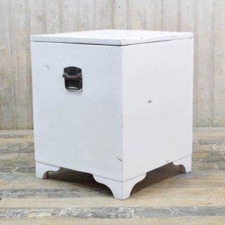 アンティークチーク ボックステーブル