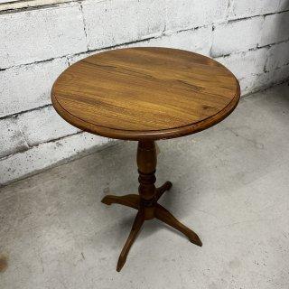 チーク ラウンドティーテーブル