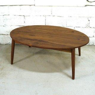 チーク オーバルテーブル