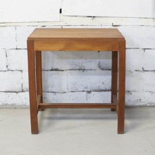 アンティークチーク サイドテーブル