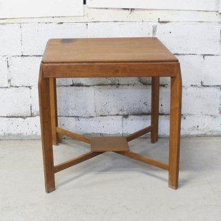 アンティークチーク カフェテーブル