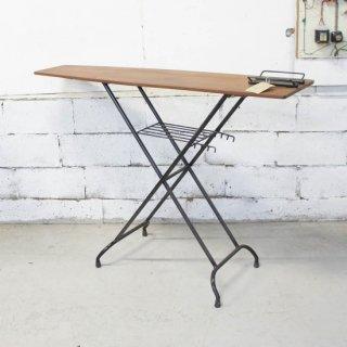 アンティークチーク アイロン台テーブル