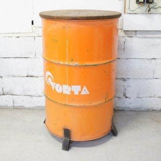 ドラム缶カウンターテーブル VORTA