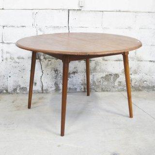 マホガニー 4人掛けラウンドテーブル