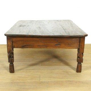 アンティークチーク レクタングルローテーブル