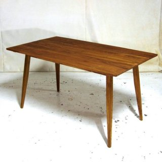 【nature】 チーク4人掛けダイニングテーブル 140cm