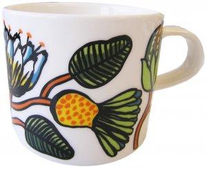 マリメッコ TIARA COFFEE CUP 2DL ホワイト