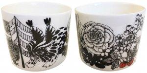 マリメッコ VELJEKSET COFFEE CUP 2PCS SET