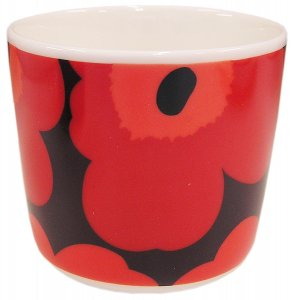 UNIKKO COFFEE CUP ダークレッド