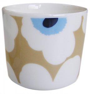 UNIKKO COFFEE CUP ベージュ×ホワイト
