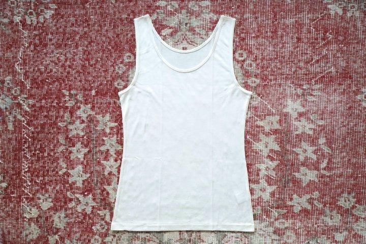 絹のタンクトップ(女性用)