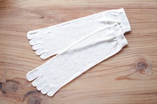 絹の5本指ソックス(LLサイズ)