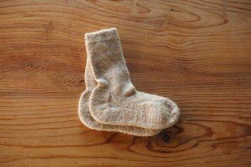 PUENTE Rueca(ルエッカ) 手紡ぎ靴下(28.5〜30cm)