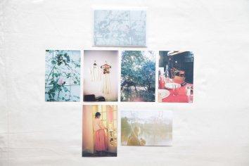 東野翠れん「Pendant 1957-2018」ポストカードセット|ばら