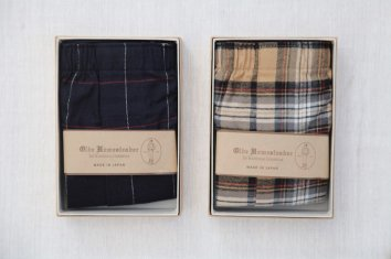 OLDE HOMESTEADER WOVEN BOXER(Traditional Cotton Flannel)