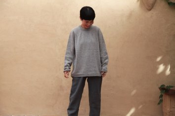 COSMIC WONDER Sphere cashmere knit sweater