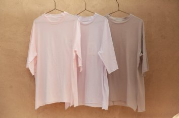 <img class='new_mark_img1' src='https://img.shop-pro.jp/img/new/icons5.gif' style='border:none;display:inline;margin:0px;padding:0px;width:auto;' />COSMIC WONDER Beautiful Organic cotton T-shirt(Light rose|Light violet|Ancient clay)