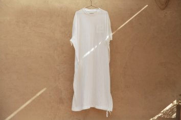 <img class='new_mark_img1' src='https://img.shop-pro.jp/img/new/icons5.gif' style='border:none;display:inline;margin:0px;padding:0px;width:auto;' />COSMIC WONDER Beautiful Organic cotton T-shirt dress(White)