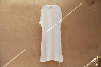 COSMIC WONDER Beautiful Organic cotton T-shirt dress(White)