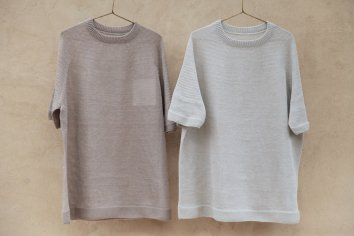 <img class='new_mark_img1' src='https://img.shop-pro.jp/img/new/icons5.gif' style='border:none;display:inline;margin:0px;padding:0px;width:auto;' />COSMIC WONDER Silk linen wholegarment knit Tshirt