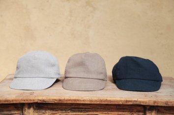COSMIC WONDER Belgium linen baseball cap