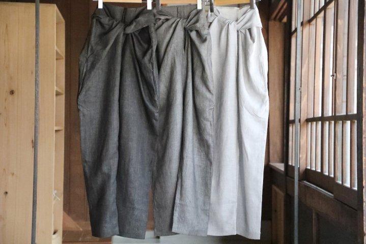 COSMIC WONDER Sumizome wrapped pants
