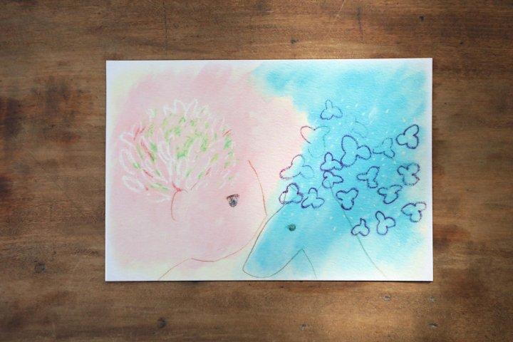 春と初夏のポストカード5枚セット