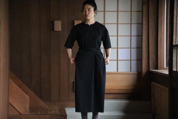 COSMIC WONDER Wrapped dress