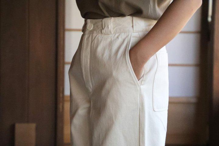 <img class='new_mark_img1' src='https://img.shop-pro.jp/img/new/icons50.gif' style='border:none;display:inline;margin:0px;padding:0px;width:auto;' />THE HINOKI OG Cotton  Denim Pants