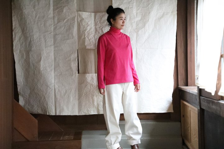 <img class='new_mark_img1' src='https://img.shop-pro.jp/img/new/icons14.gif' style='border:none;display:inline;margin:0px;padding:0px;width:auto;' />THE HINOKI Cotton wool Turtleneck