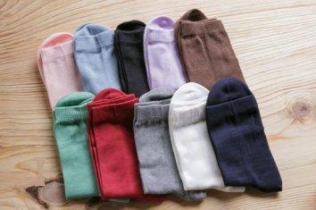 綿の先丸ソックス(Lサイズ)