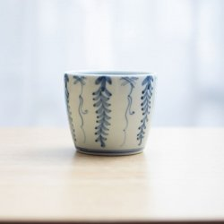 蕎麦猪口 藤紋